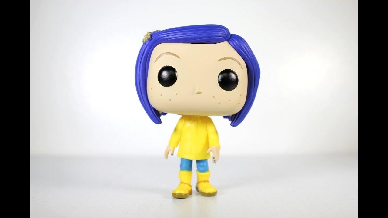 Coraline In Raincoat Funko Pop Review Youtube
