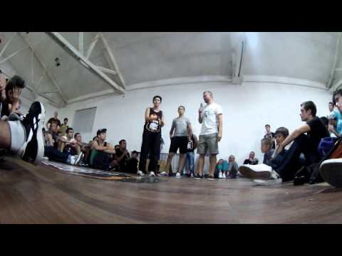 Burn Battle School 2013 | work shop bgirl Hurricane (Just4rockers/France) (1)