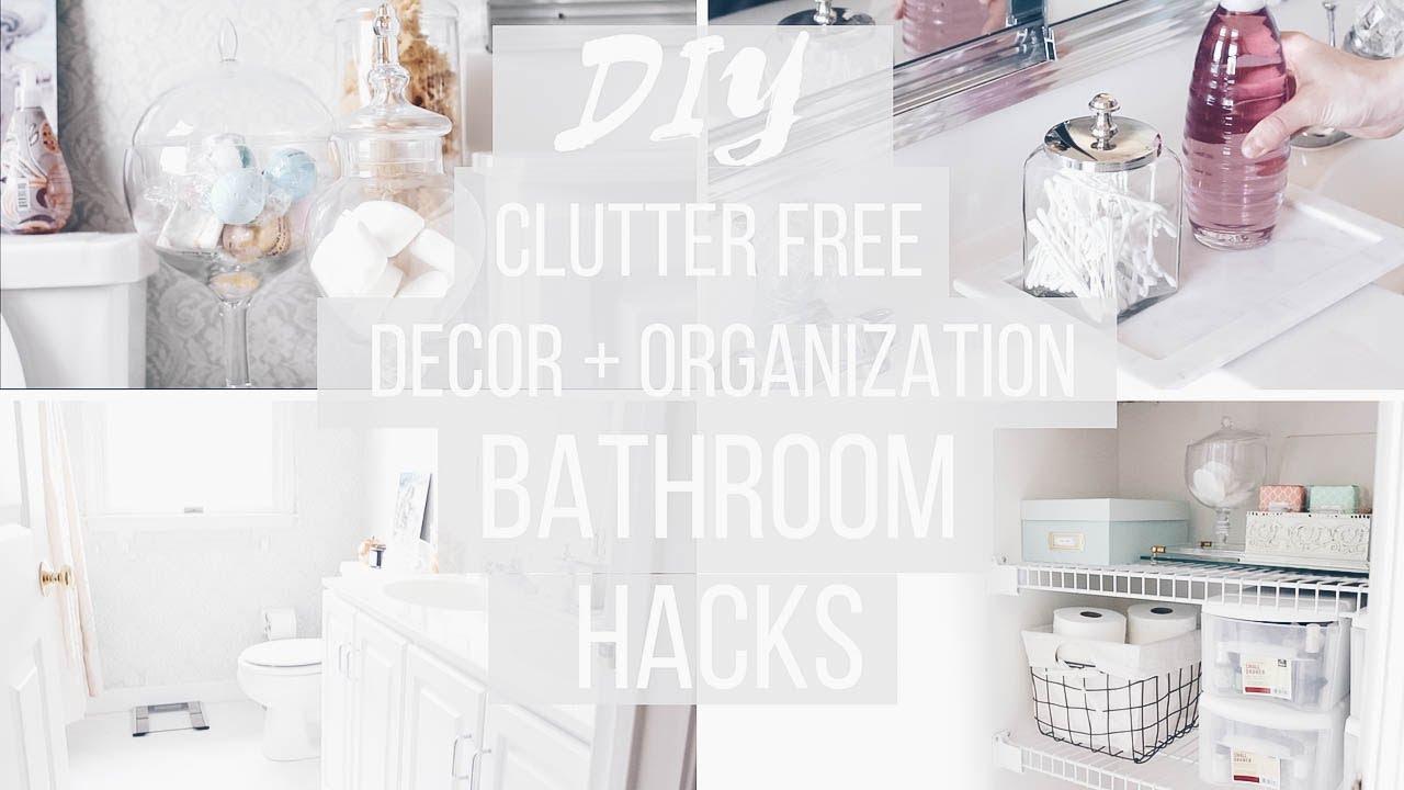 Bathroom Organization + DIY Decor | Budget Friendly | Anthropologie on kelly wearstler bathroom design, houzz bathroom design, ikea bathroom design, waterworks bathroom design,