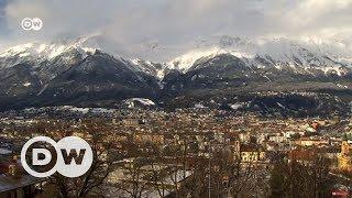 Alplerin başkenti Innsbruck'ta bir gün - DW Türkçe