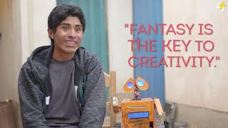Bolivian WALL E  Teen Inventor Makes Robots Out Of Trash