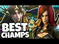 SEASON 8 BEST CHAMPIONS FOR SOLO QUEUE - League of Legends