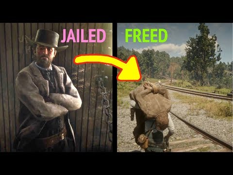 Break Anyone Out of Jail in Red Dead Redemption 2 (RDR2): NPC Wall Breach Method thumbnail