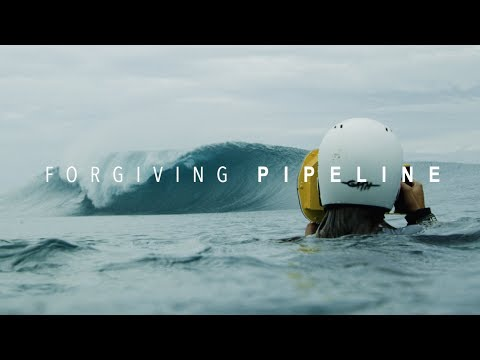Facing the world's DEADLIEST wave.   Forgiving Pipeline