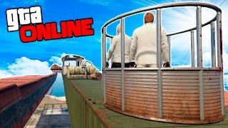 РАЗДАВИЛИ ЯИЧКИ - БЕГИ ИЛИ УМРИ В GTA 5 ONLINE