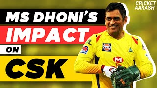 MS DHONI's impact on CSK | Cricket Aakash