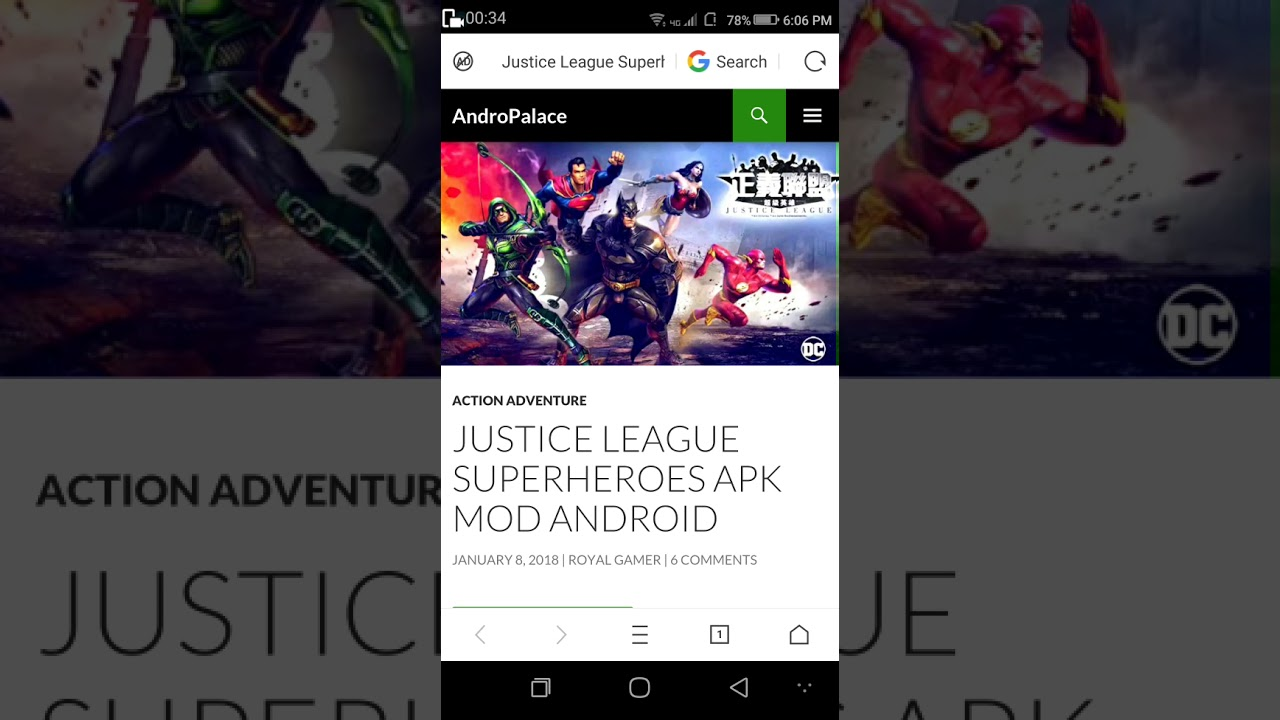 Justice League Superheroes Game on Android || Apk || in 422 mb in || Hindi ||  #Smartphone #Android