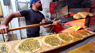 LEBANON STREET FOOD Tour in Saida!! AMAZING Lebanese Food Lunch! The BEST Man'oushe in Lebanon!