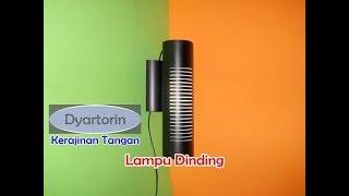Cara Membuat Lampu Dinding dari Pipa air | PVC Pipe Wall Hanging Lamp