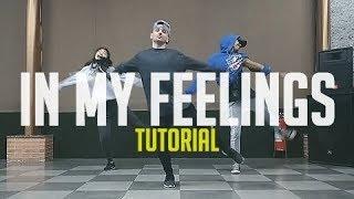 Drake - IN MY FEELINGS DANCE TUTORIAL | @broopz