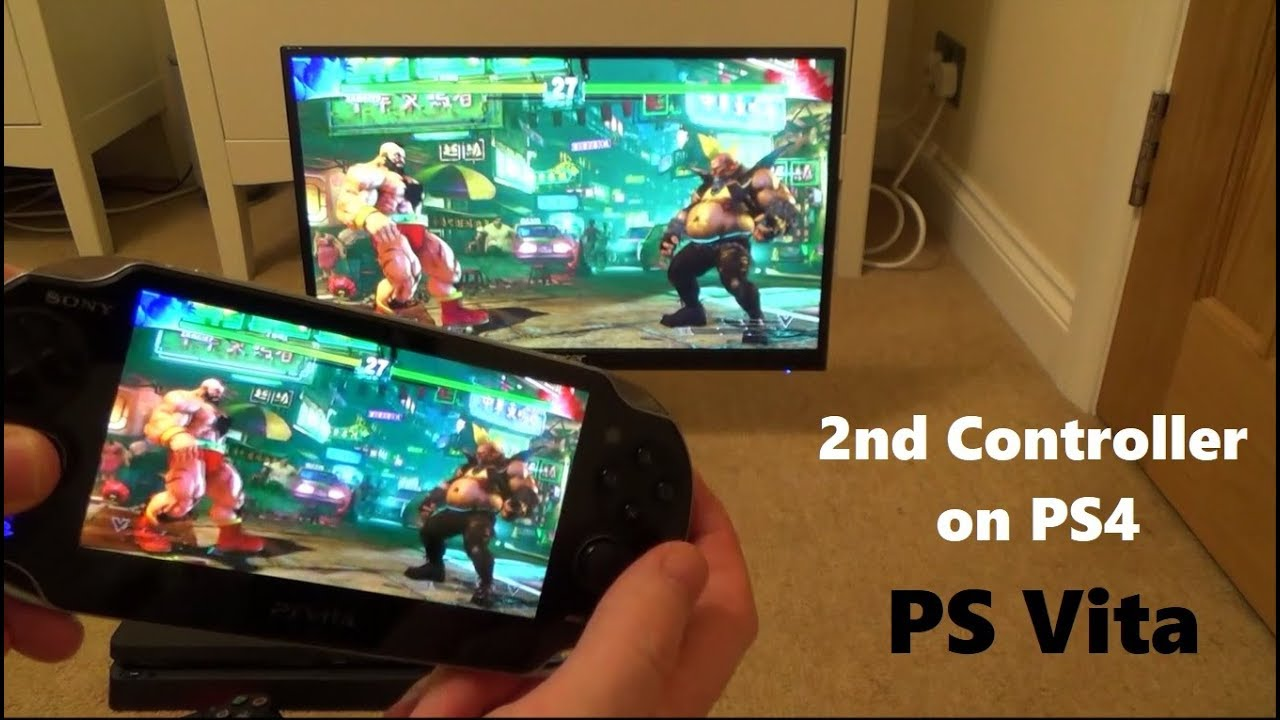 How to Use a PS Vita as a 2nd controller on the PlayStation 4