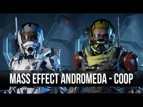 Mass Effect Andromeda Coop Play? Gameplay! (Shacks POV)