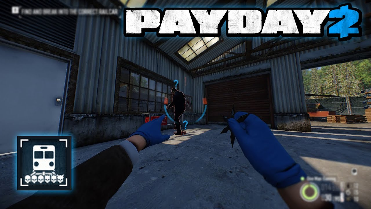 Payday 2 Train Heist
