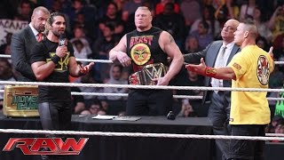 Download Royal Rumble WWE World Heavyweight Championship Contract Signing: Raw, January 12, 2015 Mp3 and Videos