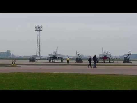 29 Squadron Eurofighter Typhoon type 11 trainer fi