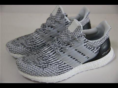 31febd25036 ADIDAS ULTRABOOST ULTRA BOOST 3.0 - OREO   ZEBRA - S80636 - YouTube