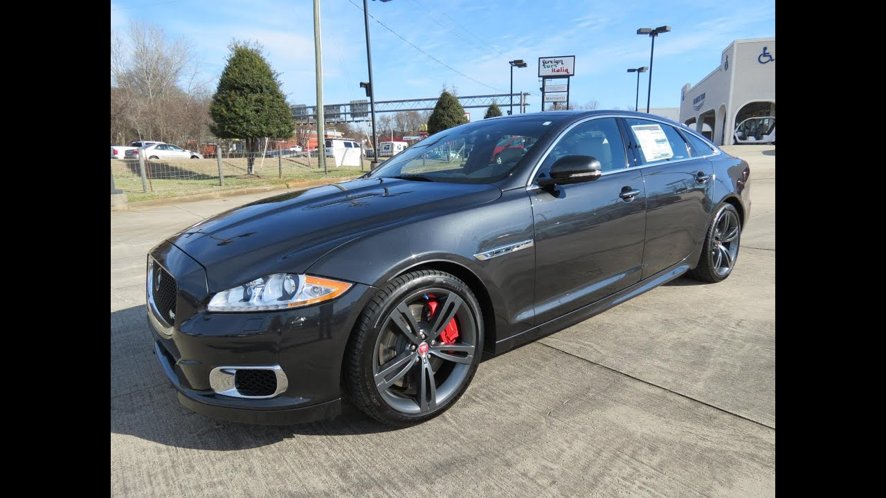 2014 jaguar xjl r supercharged start up, exhaust, and in depth
