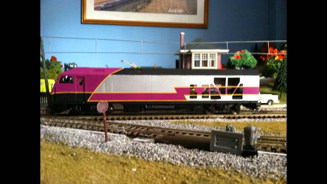 Evemodel New 1:87 Model Train ho scale diy Universal Train