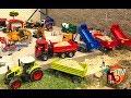 BRUDER TOYS Traktor Truck Construction Company
