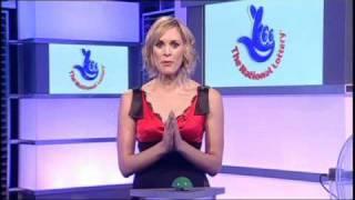 Jenni Falconer [BBC1] - The National Lottery Pokies Draw.