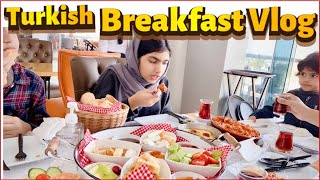 Turkish Breakfast || Breakfast Vlog Turkish style || Malayalam