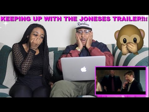 "Couple Reacts : ""Keeping Up with the Joneses"" Movie Trailer Reaction!!!!"