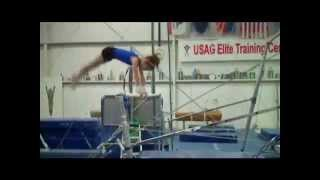 INCREDIBLE 9 YEAR OLD LEVEL 9 GYMNAST - Sage-