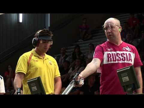 10m Men's Air Pistol final - Granada 2013 ISSF World Cup in All Events