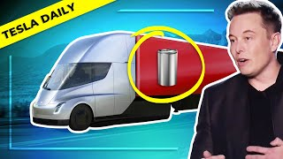 New Tesla Semi, Battery Cost Details From Elon Musk Interview + TSLA All-Time High