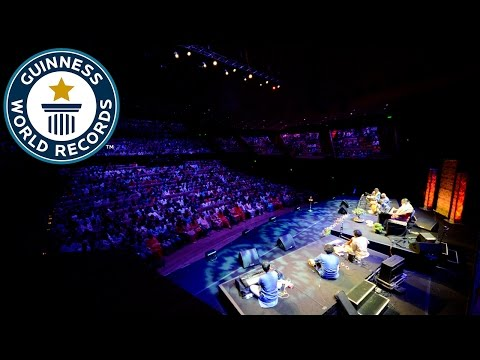 Largest music therapy lesson - Guinness World Records
