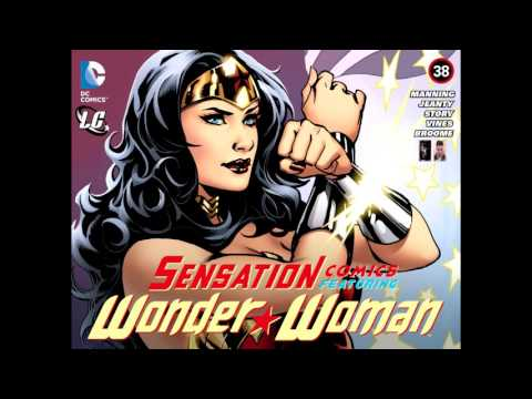 SENSATION COMICS FEATURING WONDER WOMAN # ​36 al # 39​ [ESP] 2015