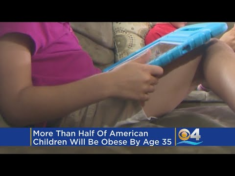 More Than Half Of US Children Will Be Obese By 35, Study Says