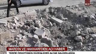 MARDİN VE HAKKARİ'DEN ACI HABER