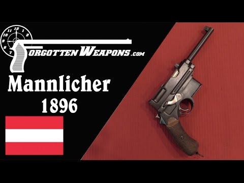 Mannlicher Model 1896 Pistols