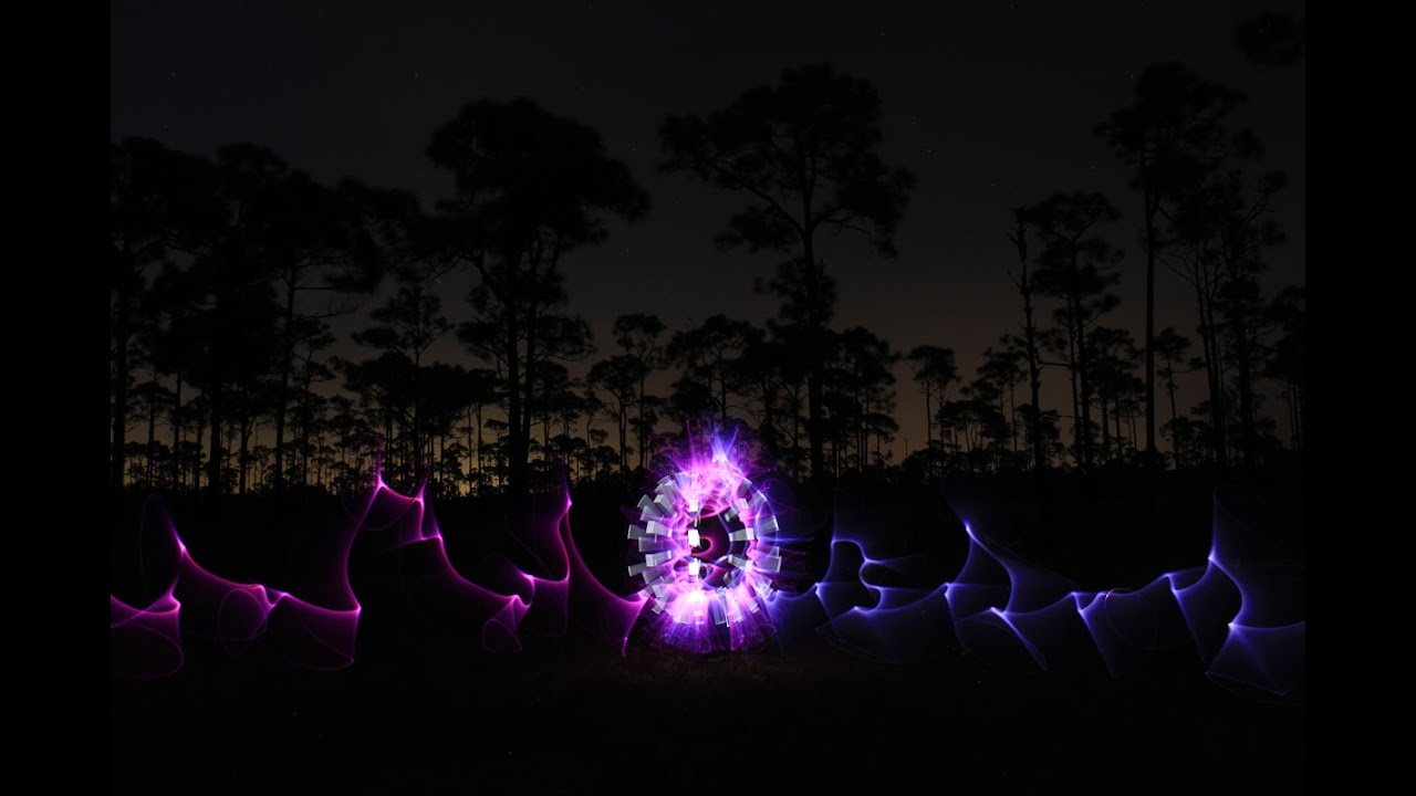 Light Painting Tutorial How To Paint An Electric Orb