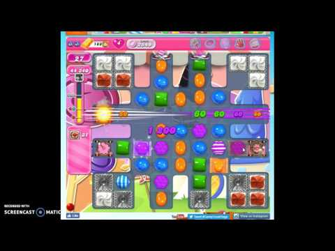 Candy Crush Level 2549 help w/audio tips, hints, tricks