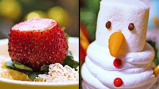 Новогоднее печенье и другие вкусные десерты для праздничного стола