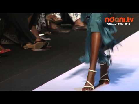 GTBank Lagos Fashion & Design Week 2014 - Bridget Awosika