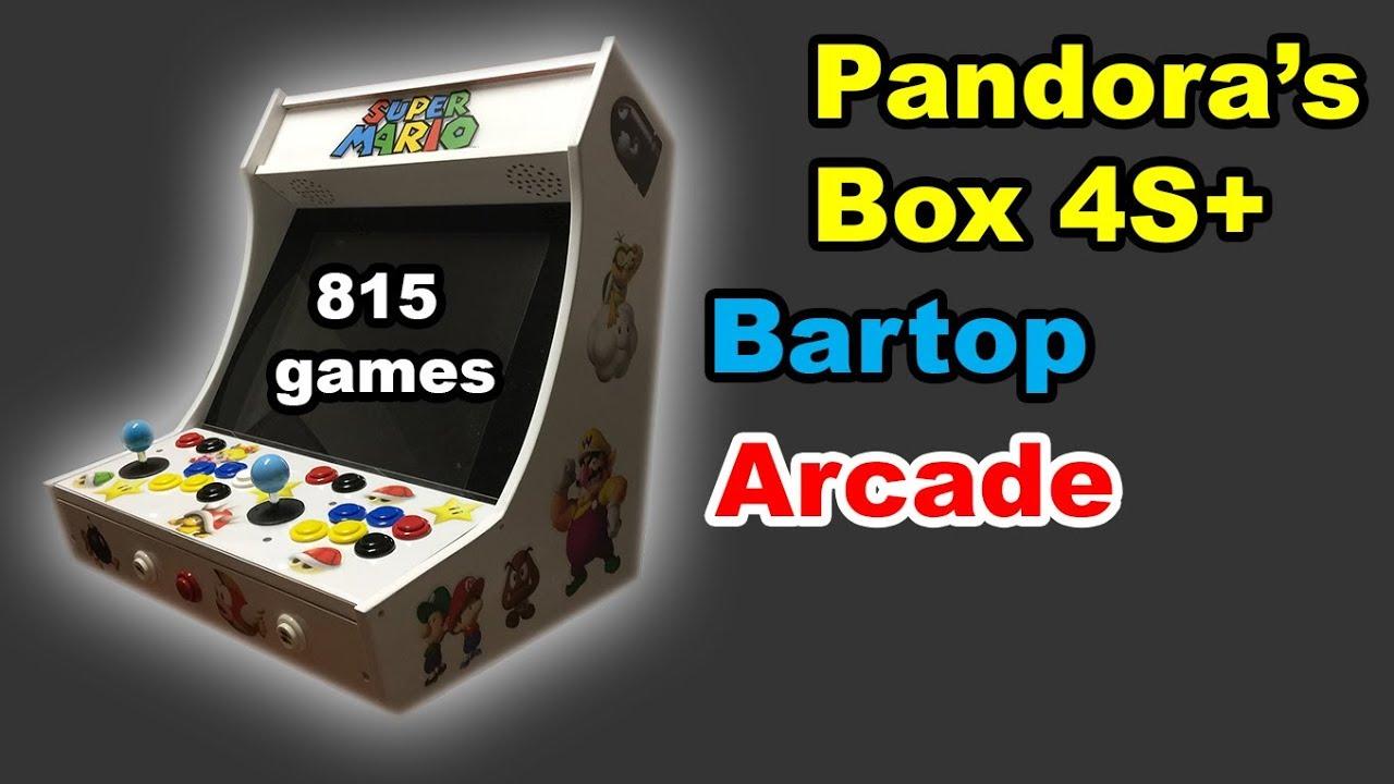 815 Games 2017 Pandora Box 4s Joystick Arcade Console Game ...