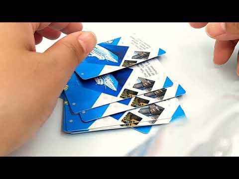Bio degradable RFID Paper card