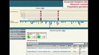 Genome Browsers - Tyra Wolfsberg (2012)