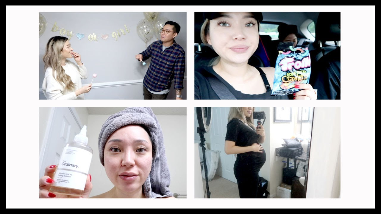 20-35 weeks Bumpdate   Gender Reveal, Pregnancy Skincare Routine, Baby Shower...