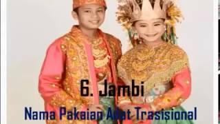 Gambar cover Pakaian Adat Tradisional Daerah di Indonesia