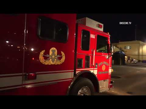 San Diego: Bomb Scare at the Shipyard 05222018