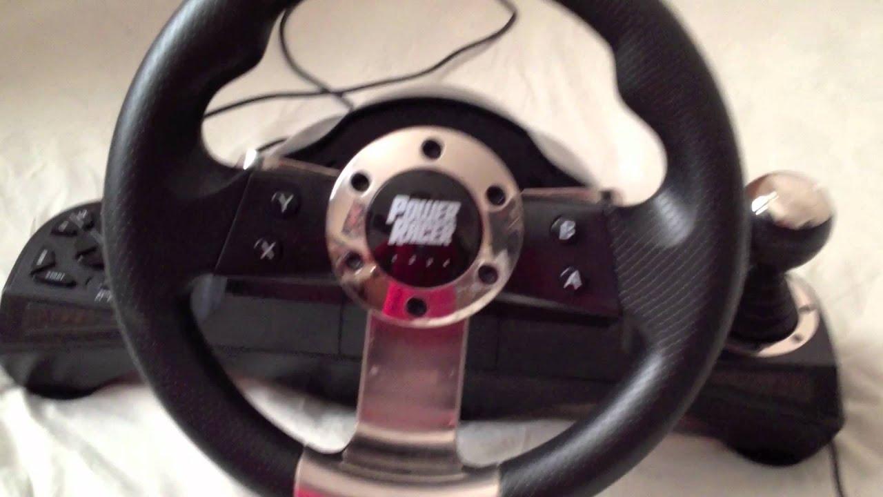 Xbox 360 Steering Wheel - Datel Power Racer 270 Xbox Steering Wheel Fuse on