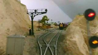 Ride the Southern California Railway Eastbound with CTC Signals.wmv