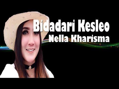 Bidadari Kesleo Nella Kharisma Lirik Karaoke (Dangdut Koplo)