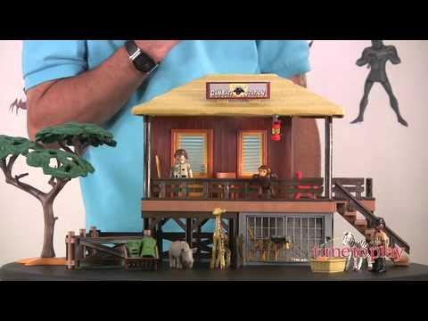 Playmobil Wildlife Care Station