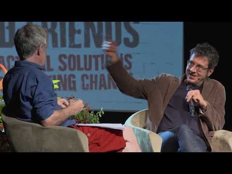 George Monbiot and Friends.Talks on climate change, celebrity culture, ecology. Bristol 2018
