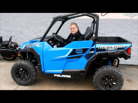 All New Polaris General 1000 Eps Overview Wheeler